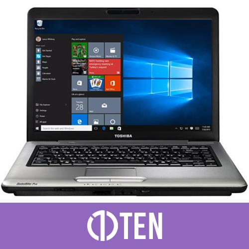 Toshiba Satellite Pro A300 15.4 inch Laptop Intel Core 2 Duo 2 GB RAM 120 GB HDD