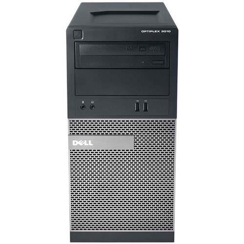 Dell Optiplex 3010 Micro Tower Intel Core i3 4GB RAM 250 GB HDD