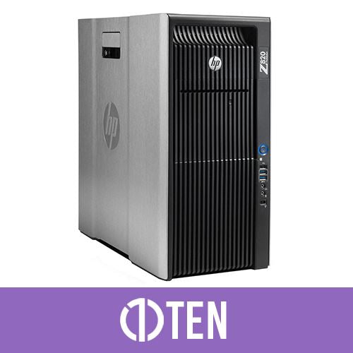 Hp Z820 Tower Intel Xeon v2 32 GB RAM 6.5 TB HDD