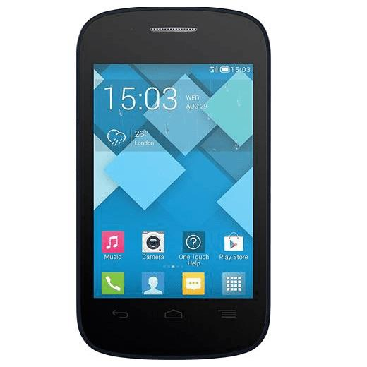Alcatel 4015X Pop C1 Mobile Phone O2 Blue