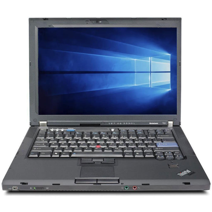 Lenovo Thinkpad T61 14.1 inch Laptop Intel Core 2 Duo 2 GB RAM 80 GB HDD