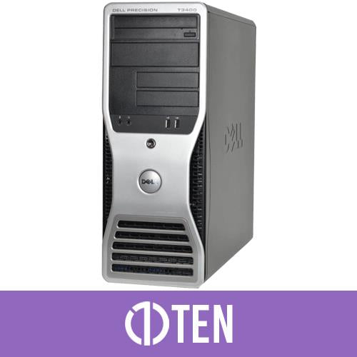 Dell Precision T3400 Workstation Intel Core 2 Duo 4 GB RAM 80 GB HDD