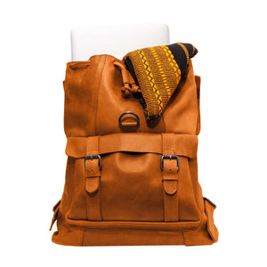 Tibeb Backpack Cognac - Sabegn