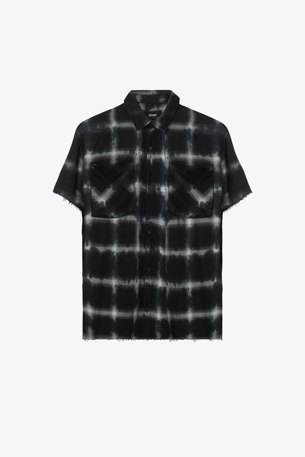 Raw Edge Flannel Shirt | Black Tye Dye - Rogue Network, Specialising in SEO and Google Web Optimisation, both organic and paid. Also specialising in Instagram and Facebook marketing.