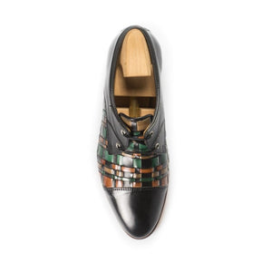 Leather_Shoes_Handmade_in_Portugal_Lisbon_Shopping_Sapataria_do_Carmo_Derby_Interwoven_Black