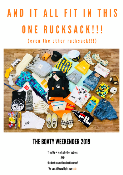 The Boaty Weekender 2019