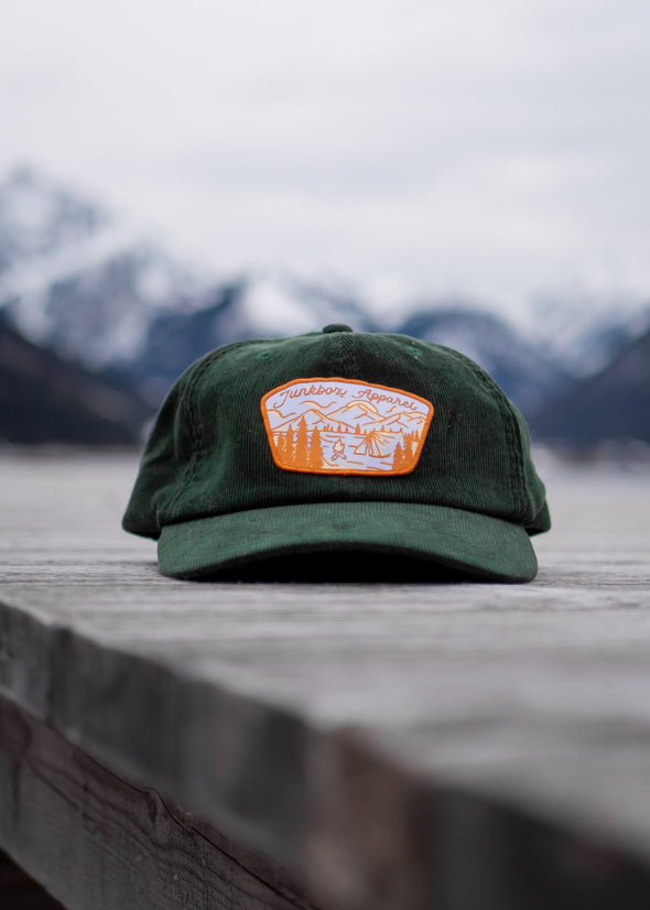 junkbox green cord cap