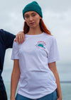 junkbox white surf tshirt