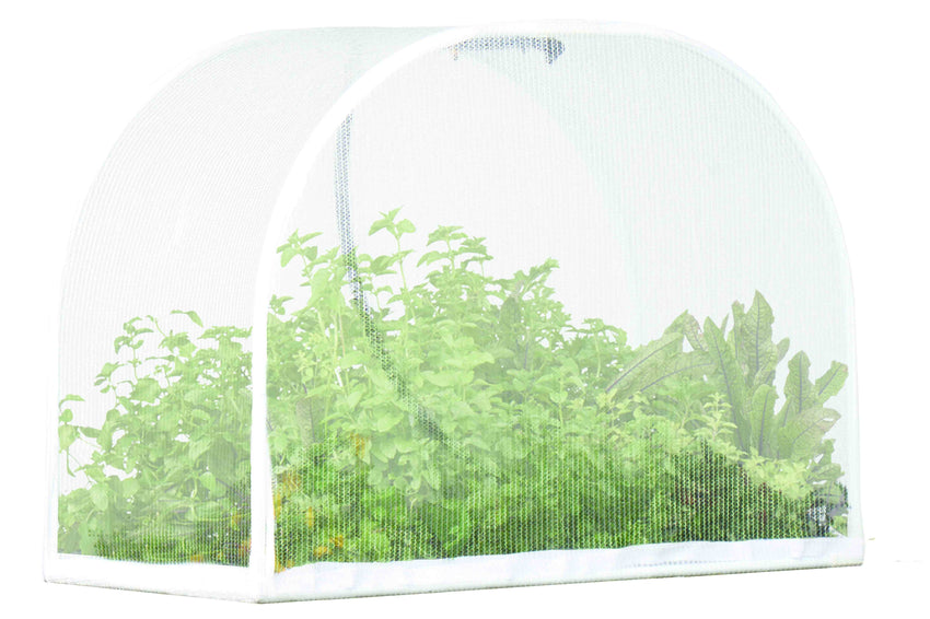 Small VegeCover Kit – (includes poles, connectors, misters and mesh cover) Covers Vegepod NZ