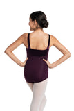 LIMITED EDITION-Ainsliewear Square Neck Leotard With Velvet Bodice