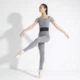 Capezio - Ribbed Sweater Knit Legging