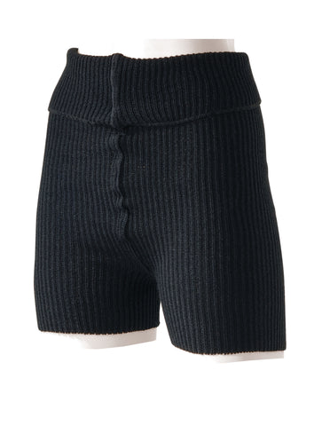 Intermezzo - Medium Knit Roll Top Shorts