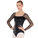 Eurotard Dimensional Mesh Sleeve Leotard