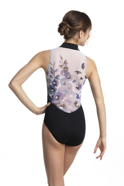 LIMITED EDITION-Ainsliewearn Zip Front with Delphinium Print