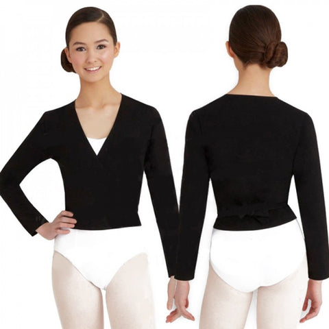 Capezio cross over top - girl