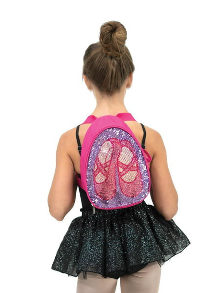Capezio Reversible Glitter Backpack