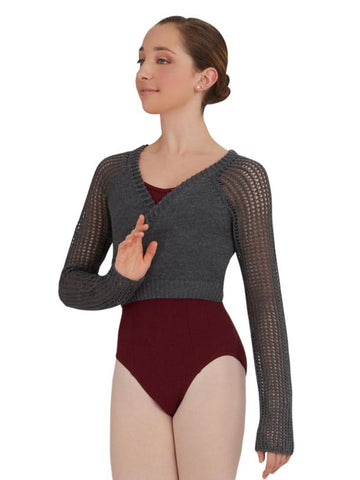 Capezio - Crop wrap top