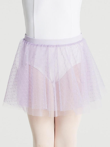 Double Layer Pull On Skirt -11312C
