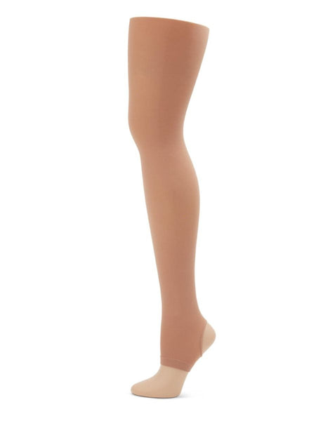 Capezio Hold & strech stirrup tight - nude