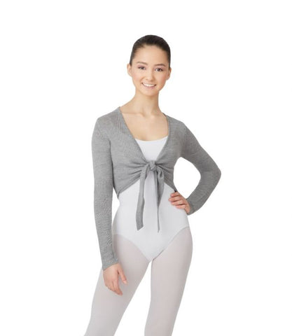 Capezio - Crop tie wrap top