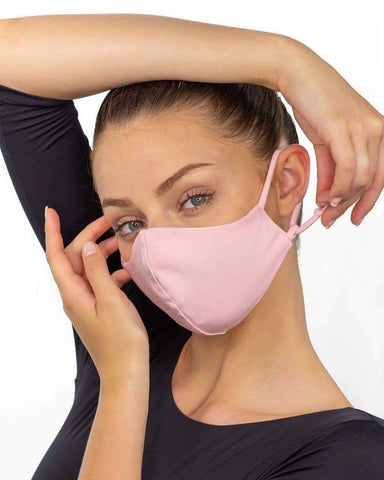 Ballet Rosa Adjustable, Over-the-Ear Reversible Face Mask