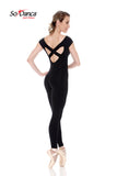 Sodanca cross back unitard E11050LE