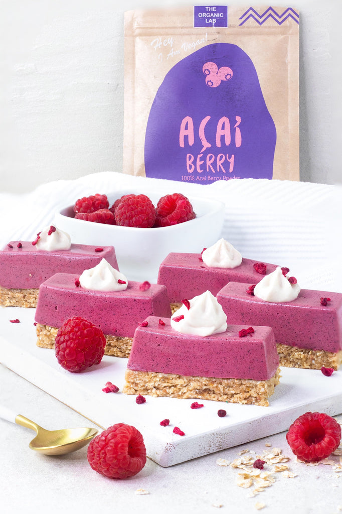 Vegan Açaí Cheesecake