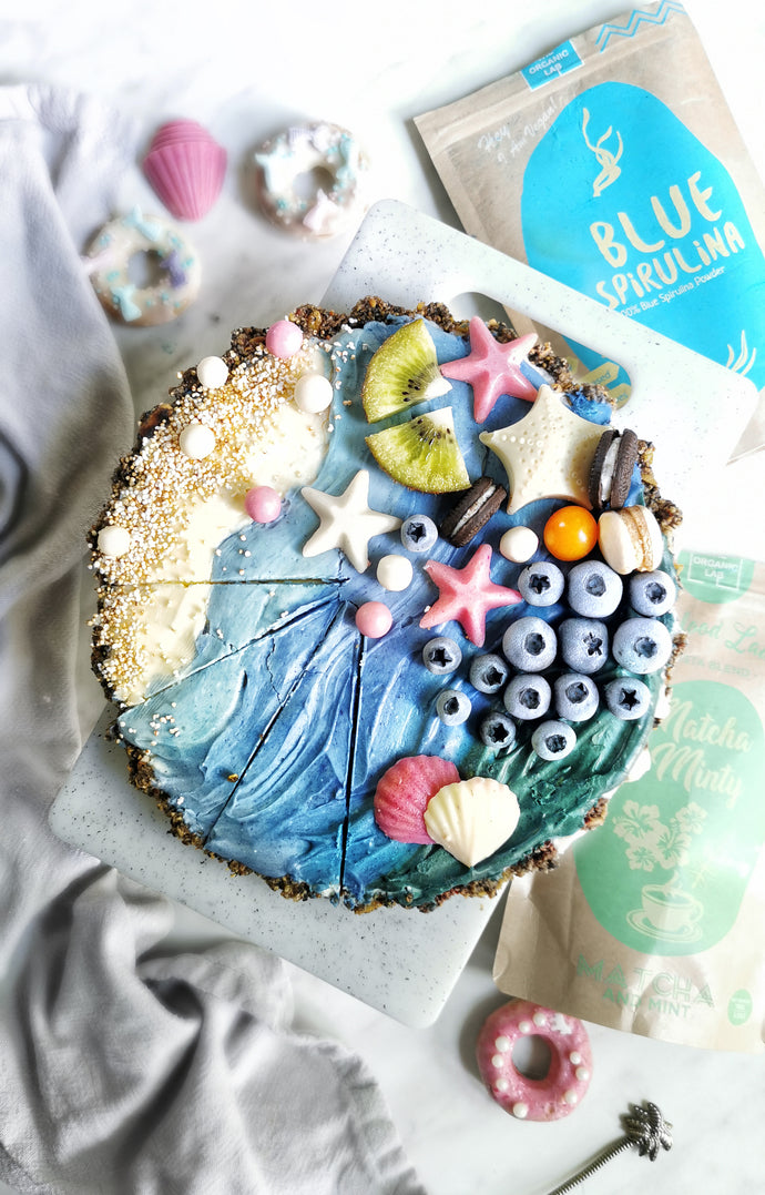 Ocean Vegan Cheesecake