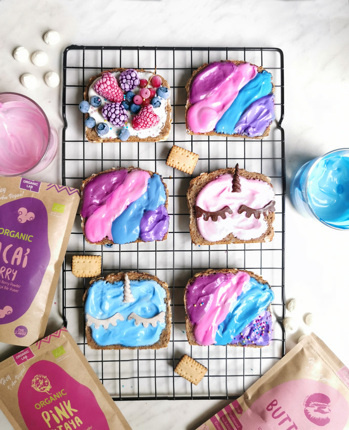 Unicorn Toasts