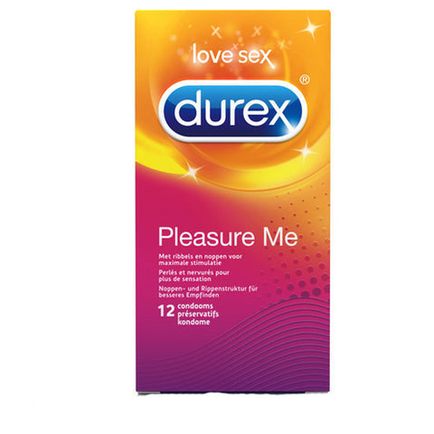 DUREX PLEASURE ME CONDOMS 12 PCS