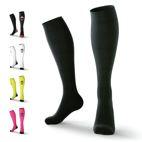 Black Compression Socks (Lightweight)