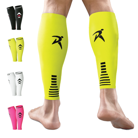 Fluorescent Calf Compression Sleeves