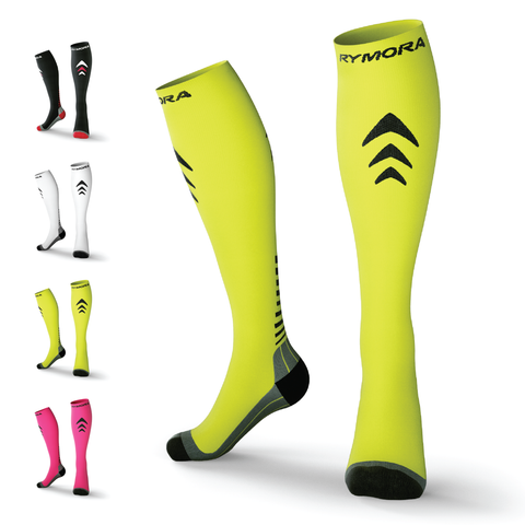 Fluorescent Compression Socks (Cushioned)