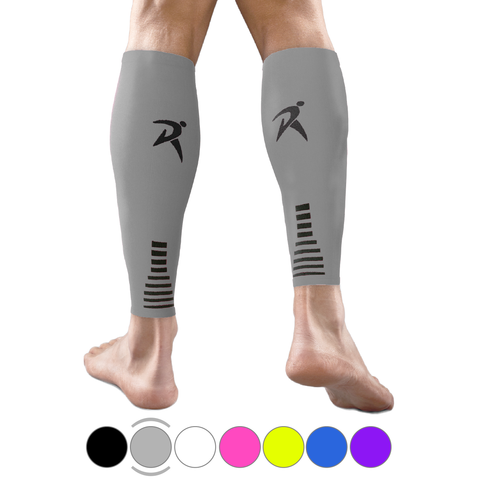 Grey Calf Compression Sleeves
