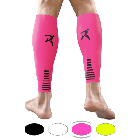 Pink Calf Compression Sleeves