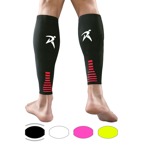 Black Calf Compression Sleeves