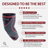 Elbow Compression Sleeve Support Brace (Single)