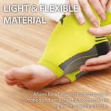 Fluorescent Plantar Fasciitis Foot Compression Sock Sleeves