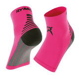 Pink Plantar Fasciitis Foot Compression Sock Sleeves