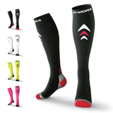 Black Compression Socks (Cushioned)