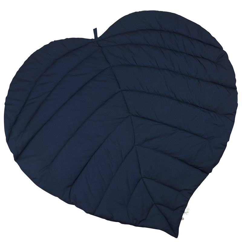 Leaf legetæppe, Navy blå