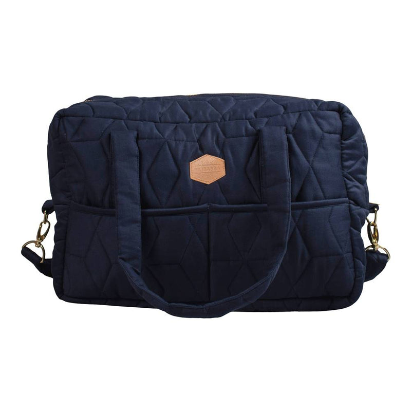 Mommybag Soft Quilt, Dark Blue