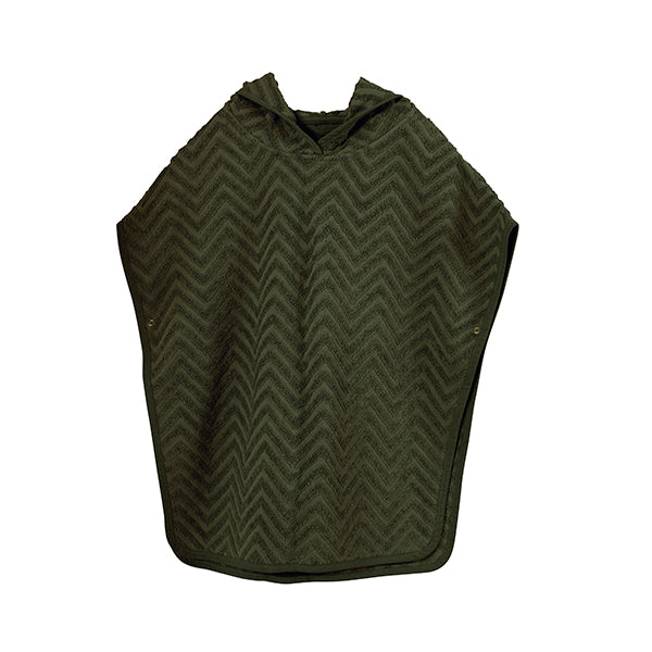 Bade poncho, Dark Green