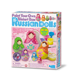 Paint your own trinket box (Russian dolls)