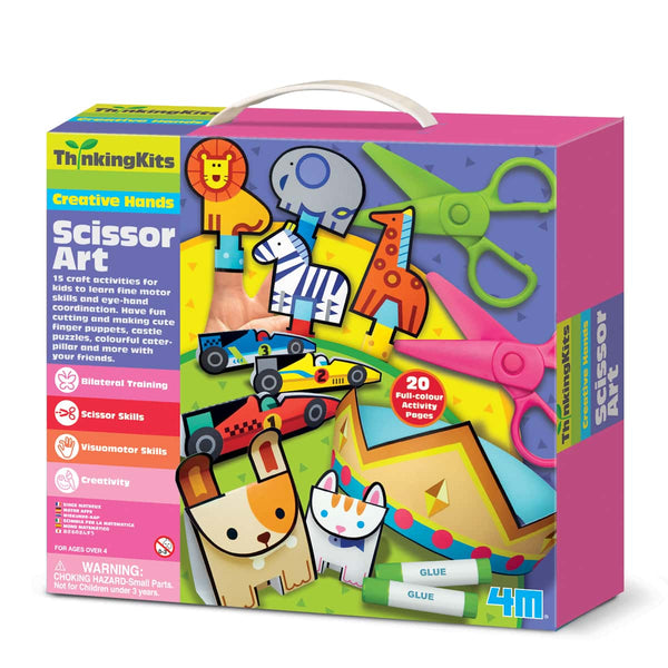 Thinking Kits/Scissors art