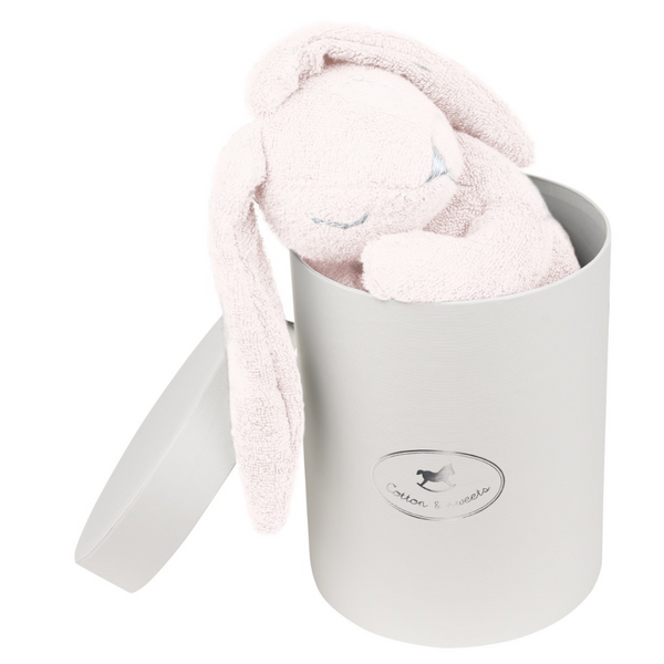 Kanin bamse, rosa, Cotton & Sweets