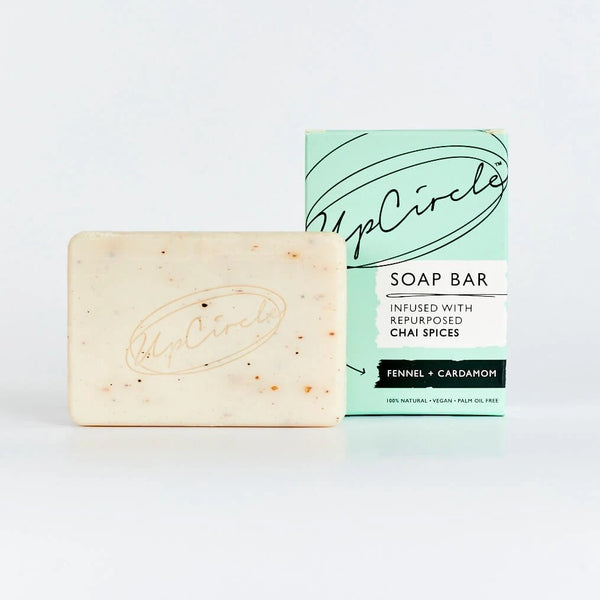 Upcircle Chai Soap Bar 100g