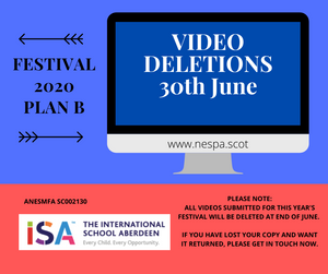 VIDEO DELETIONS