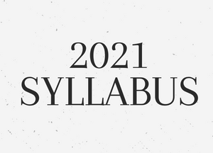 Syllabus 2021 - Printable edition