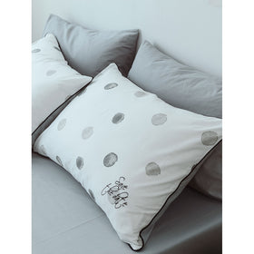 Polka Dot & Letter Embriodery Sheet Set